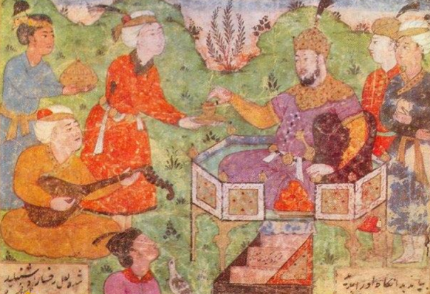 باربد ، بزرگترین موسیقیدان عصر ساسانی از جهرم